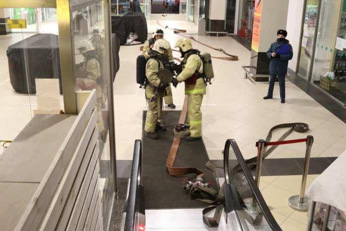 В ТРЦ «Премьер» в Рязани прошли пожарные учения