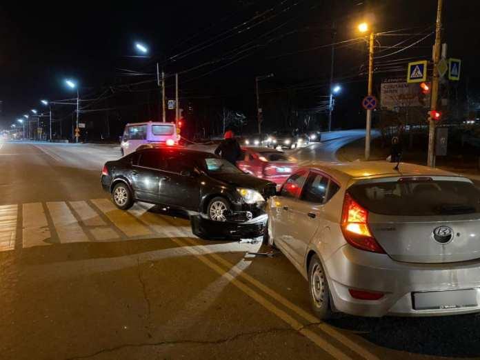 В ДТП на Касимовском шоссе в Рязани пострадали два человека