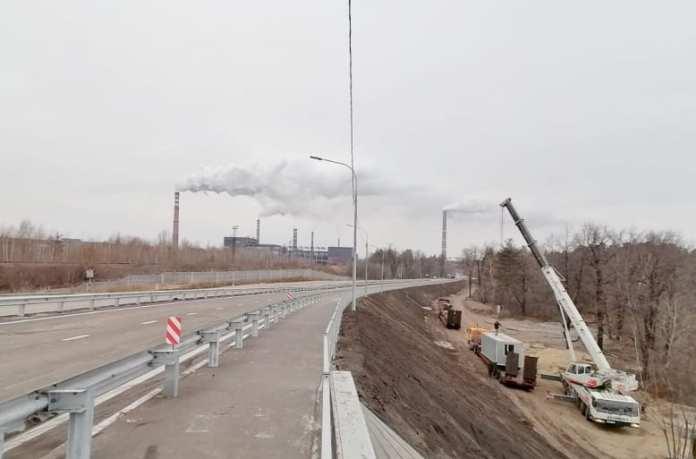 Строительство путепровода в Новой Жизни под Липецком выполнили на 97%
