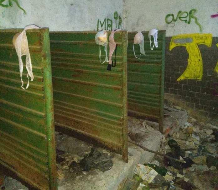 Рязанец пожаловался на плохое состояние заброшенного туалета в ЦПКиО