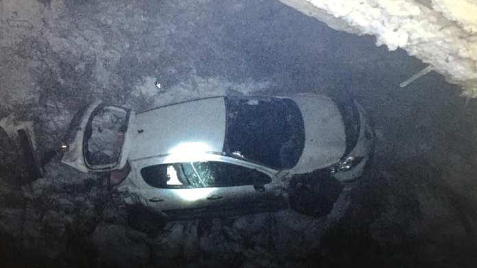 """В Спасском районе женщина на """"Пежо"""" вылетела с моста и перевернулась"""
