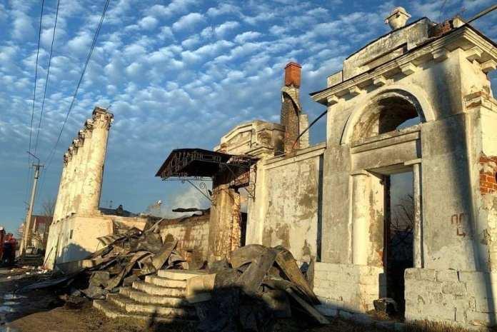 Сгоревший Дом Барковых в Касимове отреставрируют к 2026 году