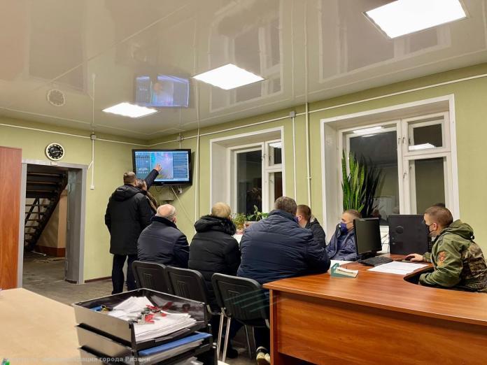 Владимир Бурмистров провёл планерку в Дирекции благоустройства города
