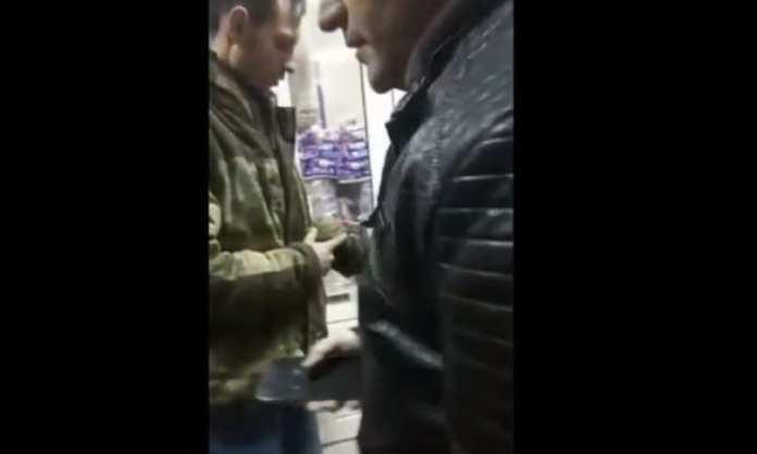 Конфликт в рязанском магазине попал на видео