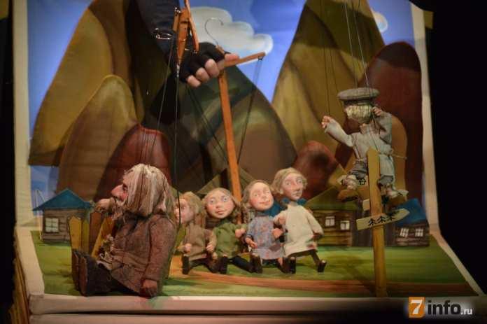 Театр кукол приготовил рязанцам предновогодний сюрприз