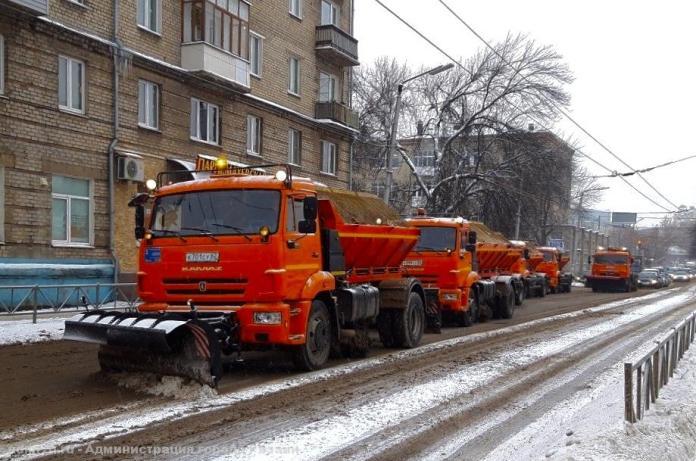 На уборку снега в Рязани выйдут более 100 машин