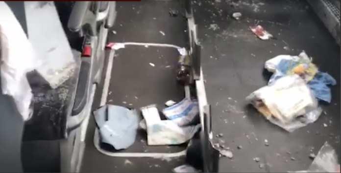 Следователи опубликовали видео из автобуса, попавшего в ДТП в Скопинском районе