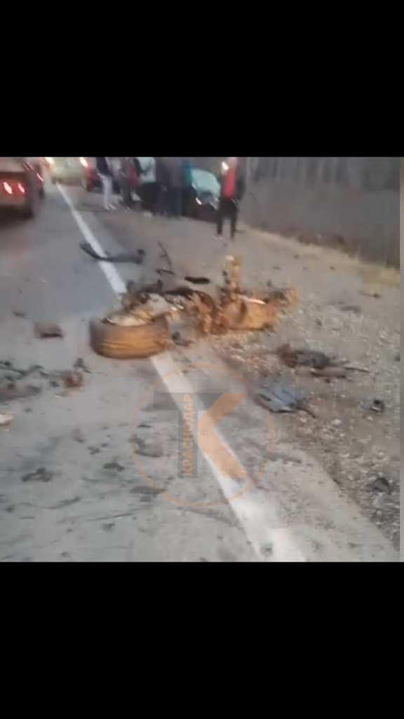 В Краснодарском крае четыре человека погибли из-за аварии с двумя иномарками