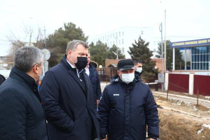 Губернатор Астраханской области Игорь Бабушкин поручил круглосуточно вести работы на Милицейском мосту