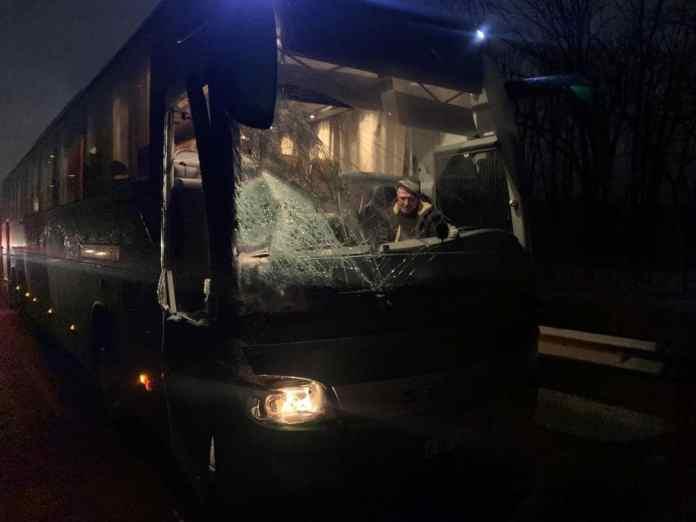 В ДТП на М5 с рейсовым автобусом под Рязанью пострадали два человека
