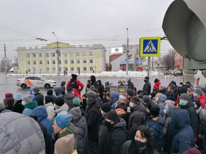 В Рязани не допущено массовых беспорядков