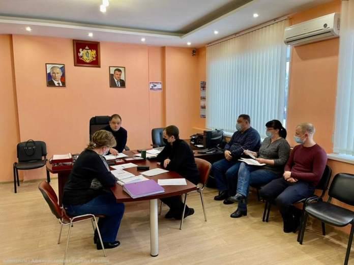 Владимир Бурмистров провёл планерку в Дирекции благоустройства Рязани