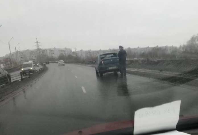В Рязани образовалась пробка из-за массового ДТП на Северной окружной