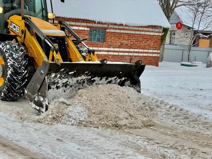 В Рязани планируют усилить рабочие смены для уборки снега из-за ухудшения погодных условий