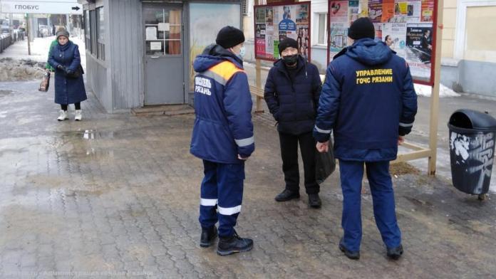 В Рязани вновь проверили соблюдение масочного режима в общественных местах