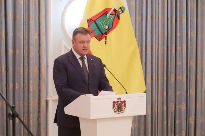 Любимов вручил рязанцам награды за выдающиеся профессиональные успехи