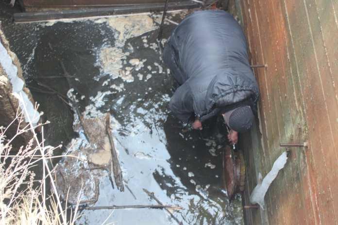 В Скопинском районе создали искусственный водоем на линии газопровода высокого давления