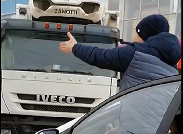 Конфликт водителей в центре Рязани попал на видео