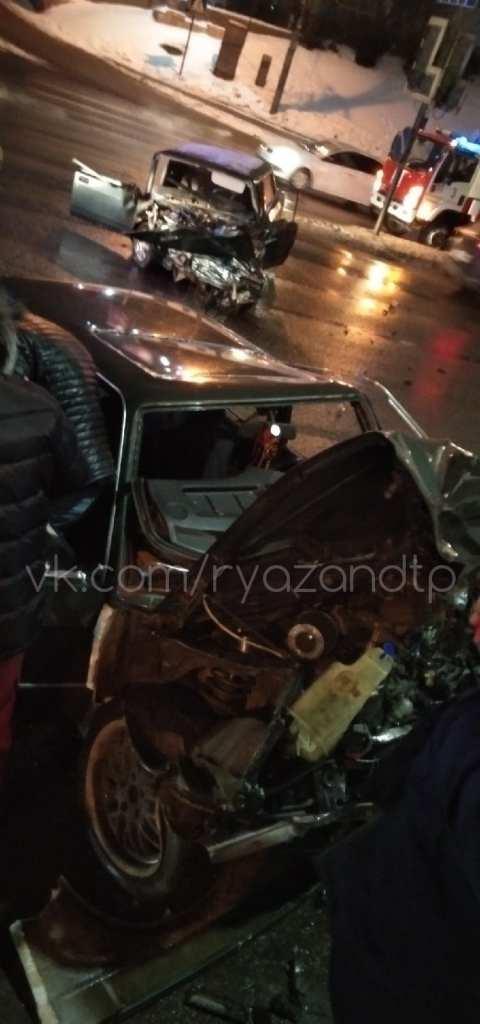 На Московском шоссе в Рязани произошло серьёзное ДТП