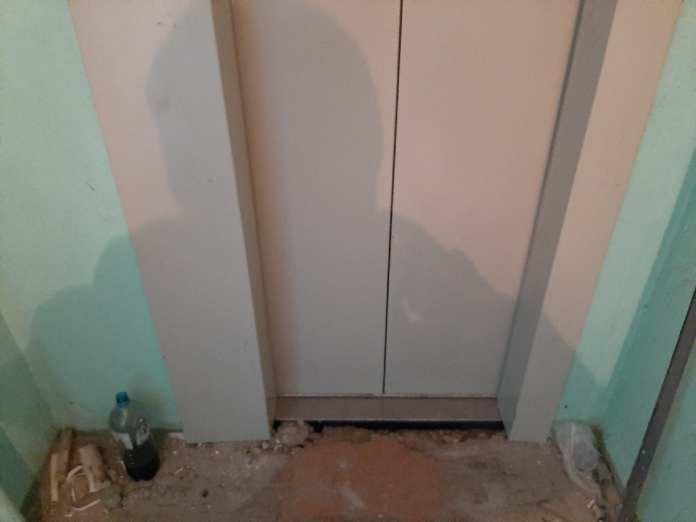 В Рязани жители девятиэтажного дома остались без лифта