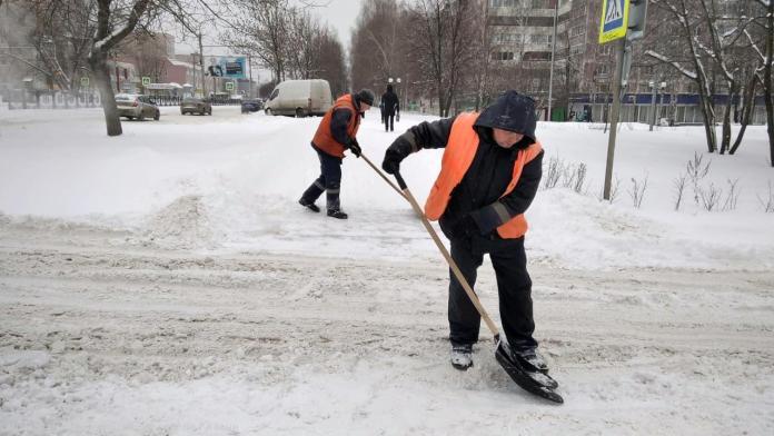 Мэрия отчиталась о ликвидации последствий сильного снегопада в Рязани