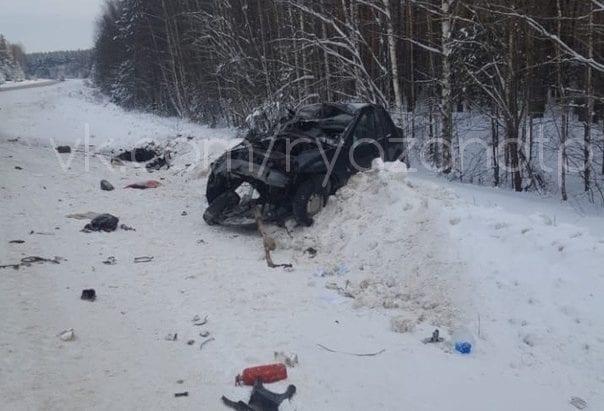 Установлена личность водителя, погибшего в аварии под Рязанью