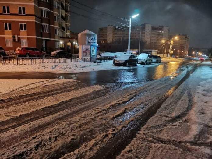 В Рязани затопило ещё одну улицу