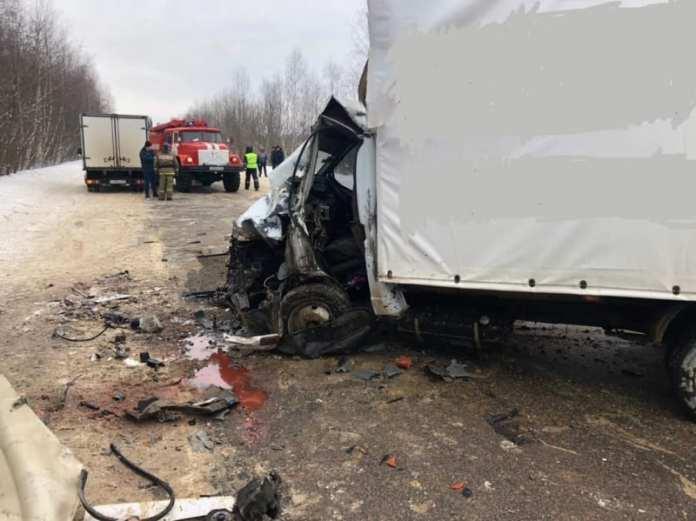 В Касимовском районе два человека пострадали в аварии с грузовиками