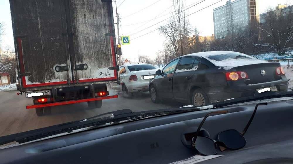 На улице Советской Армии в Рязани произошло ДТП