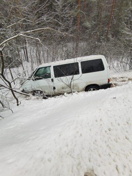 Два человека пострадали в аварии в Клепиковском районе
