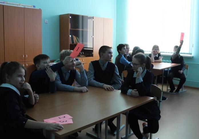 В школе Скопинского района провели интерактивную экскурсию для учеников по Мамаеву кургану