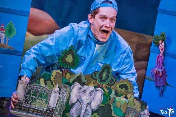 Рязанский театр кукол рассказал, «Как научить дракона летать»