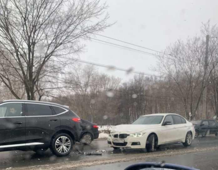 На Московском шоссе в Рязани произошло ДТП