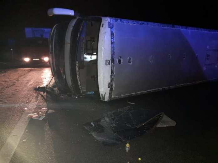 Очевидец рассказал об аварии с автобусом в Рязанской области