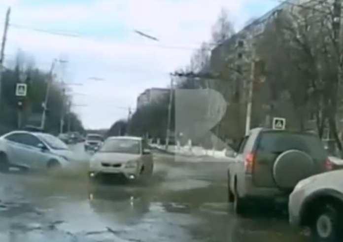 В полиции рассказали о ДТП с машиной ДПС в Рязани