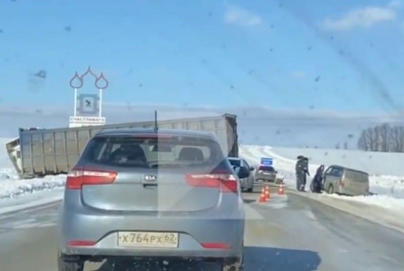 Два человека погибли, двое пострадали в ДТП в Рязанской области – соцсети