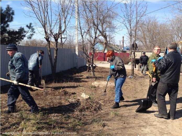 1 апреля в Рязани стартует месячник по благоустройству города