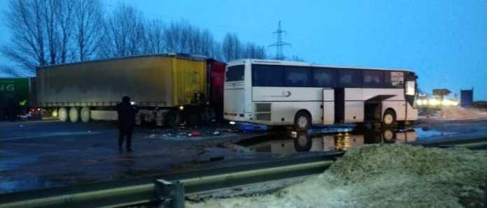 В Рязанской области произошло ещё одно ДТП с рейсовым автобусом
