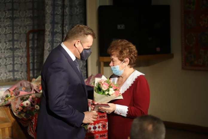 Николай Любимов поздравил с праздником жен, матерей и вдов Героев РФ