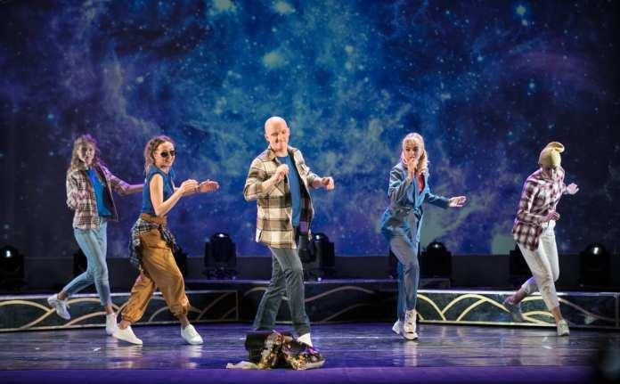 Театры Рязани отметили свой профессиональный праздник космическим шоу