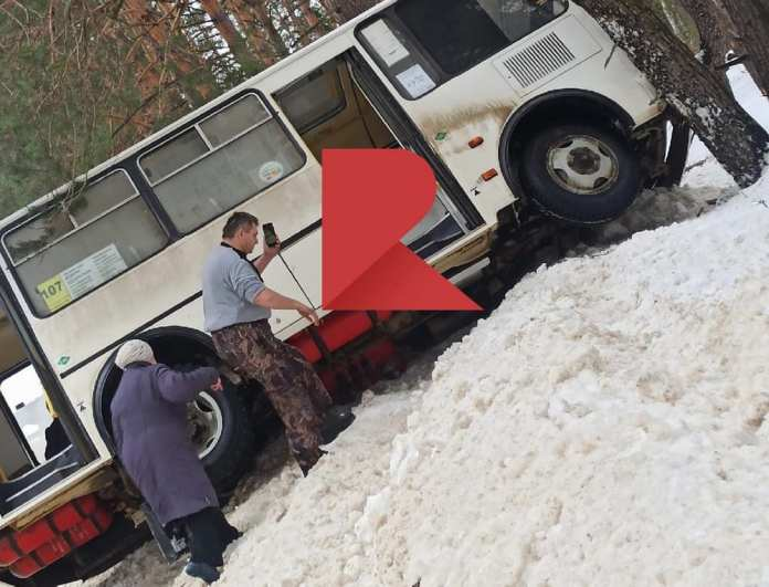 Рейсовый автобус попал в ДТП под Рязанью