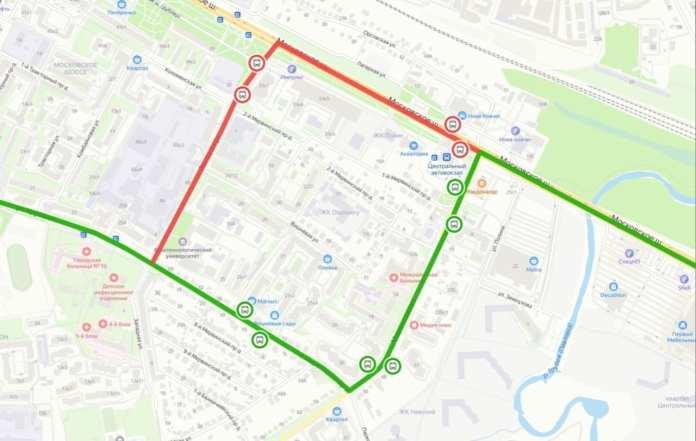 В Рязани предлагают изменить маршрут автобуса №4