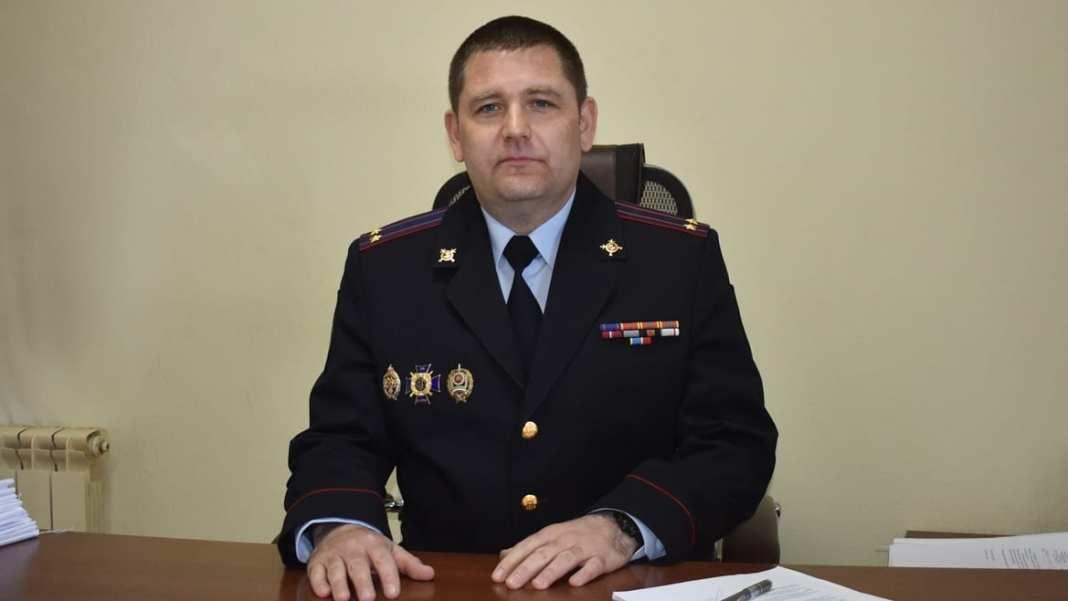 Отдел МВД в Сараях возглавил подполковник полиции Тимур Митин