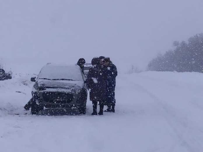 В Пронском районе Citroen выехал на встречку и врезался в Lada Kalina