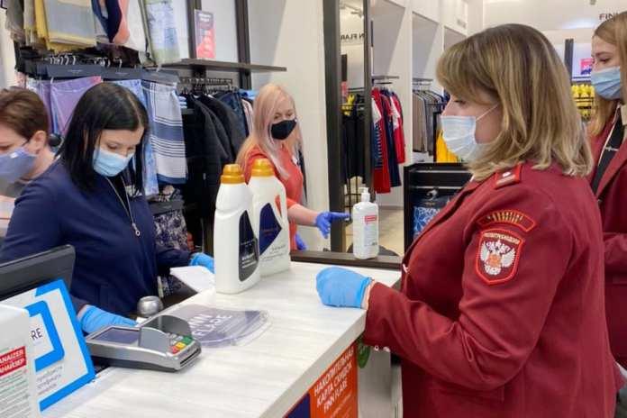 Роспотребнадзор проверил торговые центры в Рязани