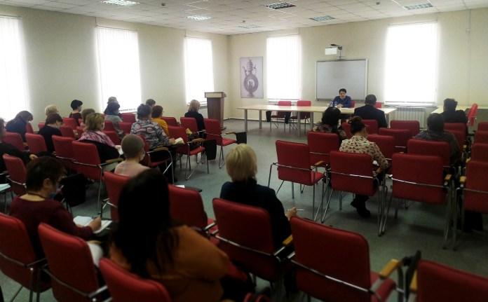 Елена Митина встретилась с педагогами города Скопина и Скопинского района