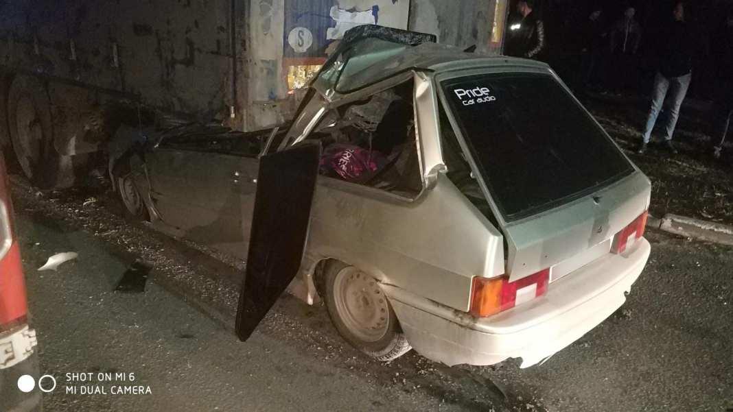 Последствия жесткой аварии на Московском шоссе в Рязани сняли на видео