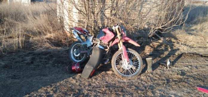 В Сараевском районе 16-летний мотоциклист получил травмы после столкновения с иномаркой
