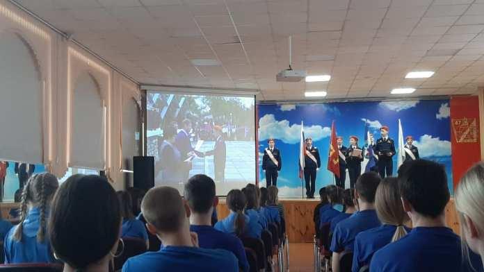 Сотрудники МЧС наградили рязанских школьников