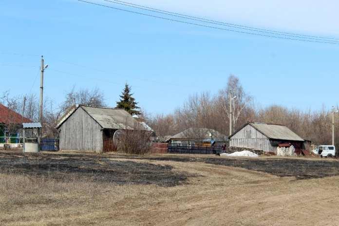 В Путятинском районе выгорело более трёх гектаров сухой травы